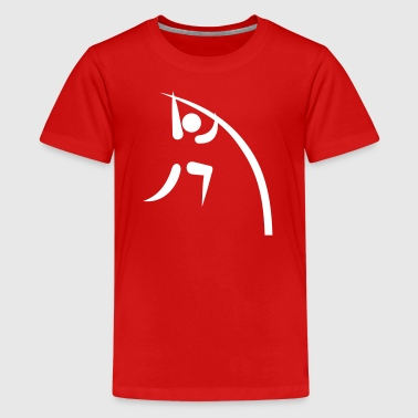 Pole vault - Kids' Premium T-Shirt