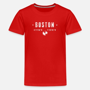 Coordinates Boston - Kids' Premium T-Shirt