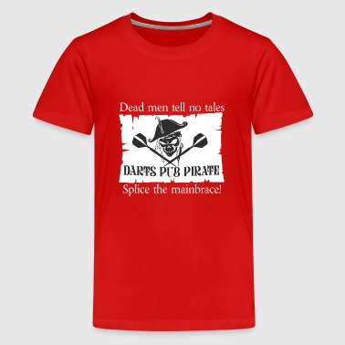 Pubs Darts Darts Pub Pirate Darts Shirt - Kids' Premium T-Shirt