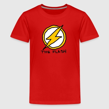 Superhero Flash - Kids' Premium T-Shirt