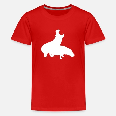 Fucking Safari Hippo - Kids' Premium T-Shirt