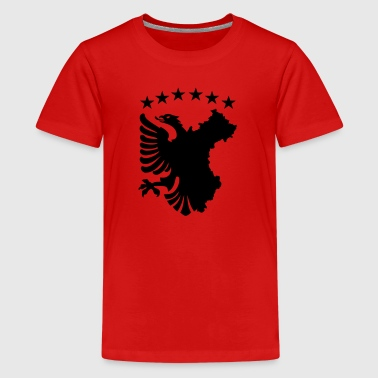 Albanian Autochthonous Flag - Kids' Premium T-Shirt