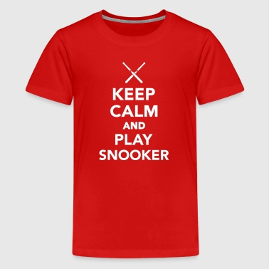 Snooker - Kids' Premium T-Shirt