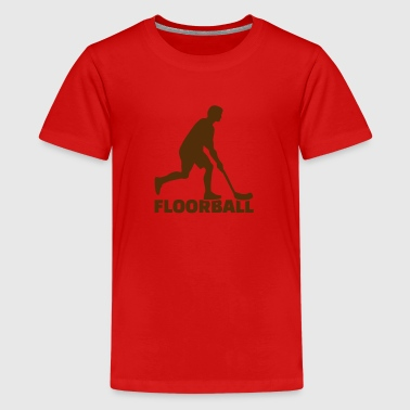 Floorball Game Floorball - Kids' Premium T-Shirt