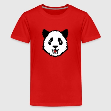 animal panda head teddy 13052 - Kids' Premium T-Shirt