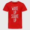 wake up shake up - Kids' Premium T-Shirt