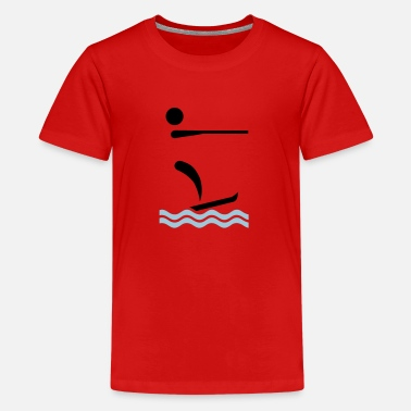 Water Skiing Water ski - Kids' Premium T-Shirt