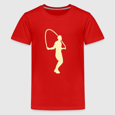 Jump Rope Workout Jump rope - Kids' Premium T-Shirt