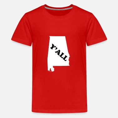 Alabama Funny Alabama Yall - Kids' Premium T-Shirt