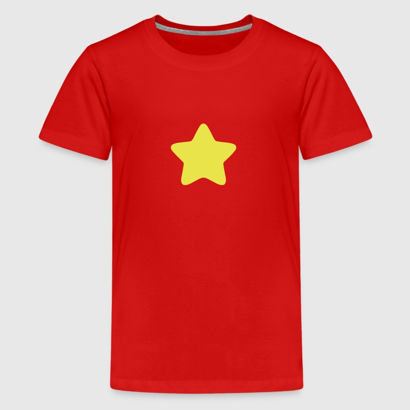 star rounded edge 3 star - Kids' Premium T-Shirt