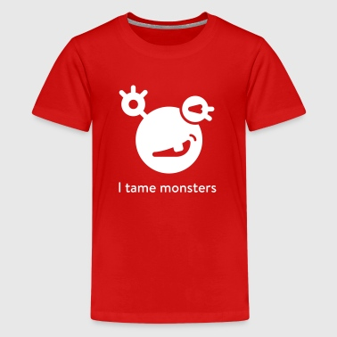 Mysugr I tame monster - Kids shirt - Kids' Premium T-Shirt