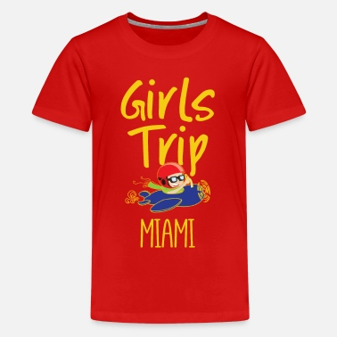 Collections Girls Trip Holidays Vacation Miami Trip - Kids' Premium T-Shirt