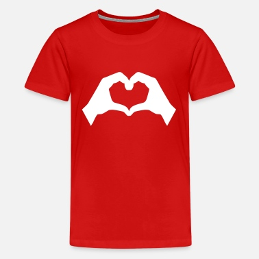 Love Hand - Kids' Premium T-Shirt