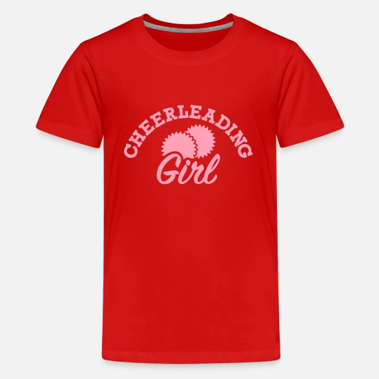 Cheerleading T-Shirts - Cheerleading - Kids' Premium T-Shirt red