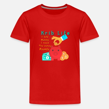 Crib Krib Life Savers - Kids' Premium T-Shirt