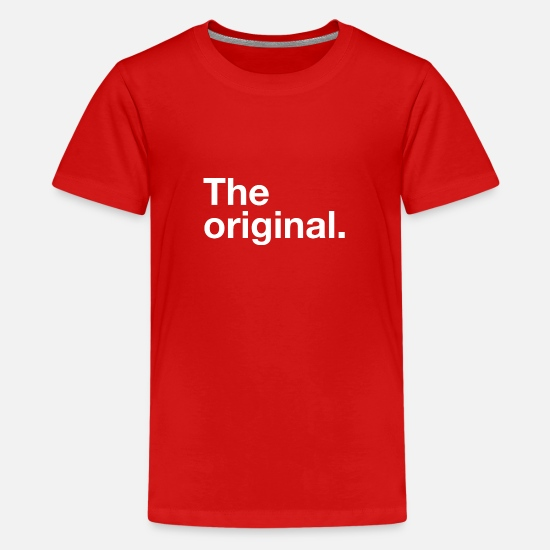 Original T-Shirts - the original - Kids' Premium T-Shirt red