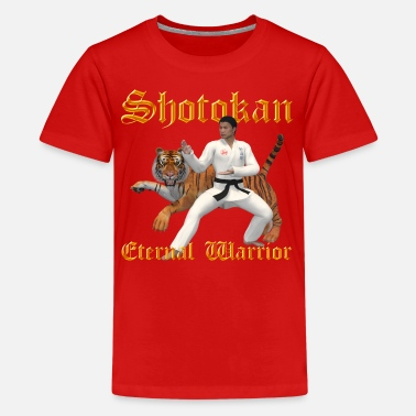 Shotokan Warrior - Kids' Premium T-Shirt