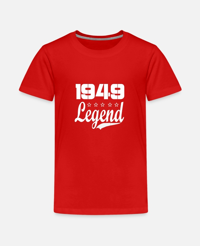 Born In T-Shirts - 49 Legend - Kids' Premium T-Shirt red