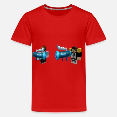Robloxer FIRENORMAN1 AND YOLOGAMEING12 ROBLOX - Kids' Premium T-Shirt