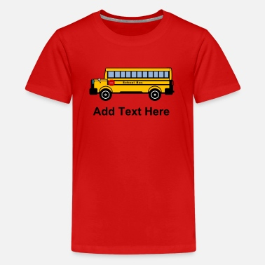 Bus School Bus - Kids' Premium T-Shirt