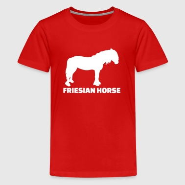 Friesian Horse - Kids' Premium T-Shirt