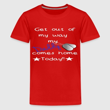 Military Homecoming - Kids' Premium T-Shirt