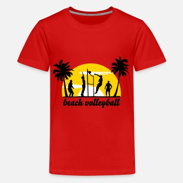 Summer beach volleyball - Kids' Premium T-Shirt