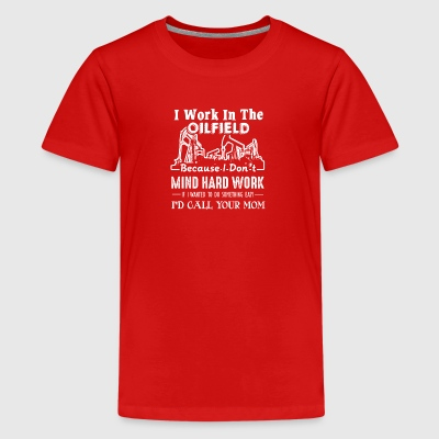 Oilfield Shirts Oil Field Tee Shirt - Kids' Premium T-Shirt