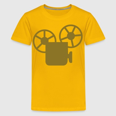 old style movie camera - Kids' Premium T-Shirt