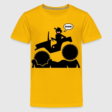 Jeep Mud Boggin 1 - Kids' Premium T-Shirt