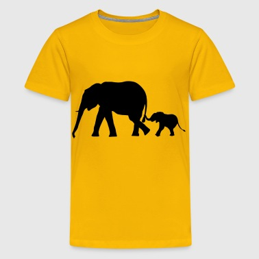 Elephants - Elephant - Kids' Premium T-Shirt