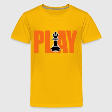 Play Chess - Kids' Premium T-Shirt