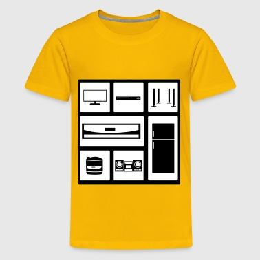 Household Elektronic Equipment - Kids' Premium T-Shirt