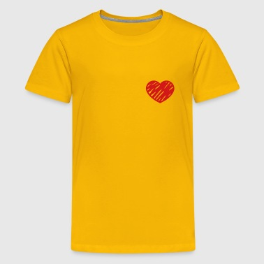 Adoption Awareness Heart - Kids' Premium T-Shirt