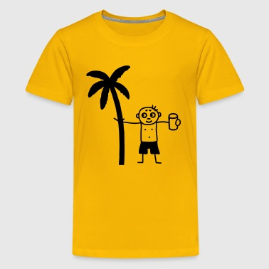 Party under the palms - Kids' Premium T-Shirt