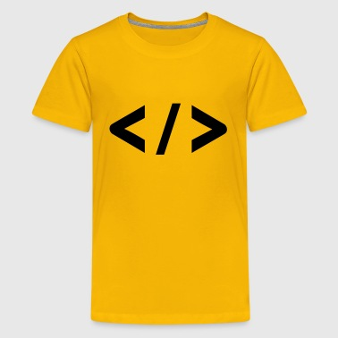 Source code icon - Kids' Premium T-Shirt