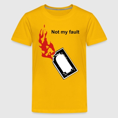 Burn Card - Kids' Premium T-Shirt