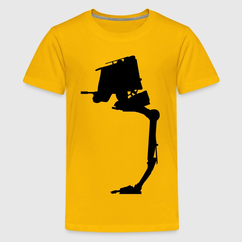 AT-ST Walker - VECTOR - Kids' Premium T-Shirt