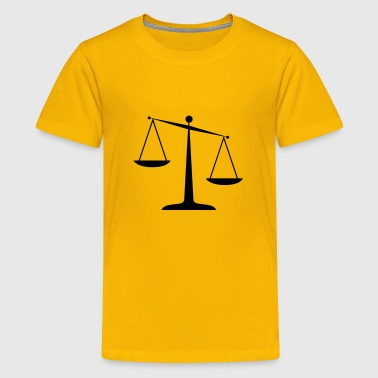scales of justice - Kids' Premium T-Shirt