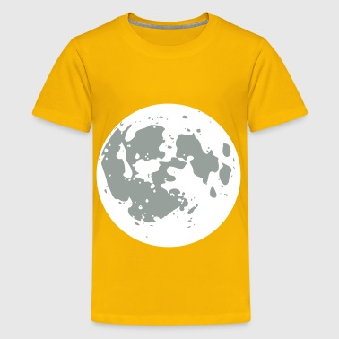 Cartoon style moon - Kids' Premium T-Shirt