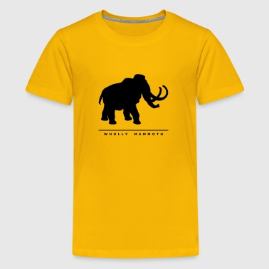 Prehistoric Giants: Wholly Mammoth - Kids' Premium T-Shirt