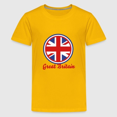 great britain gb UK england scotland  - Kids' Premium T-Shirt