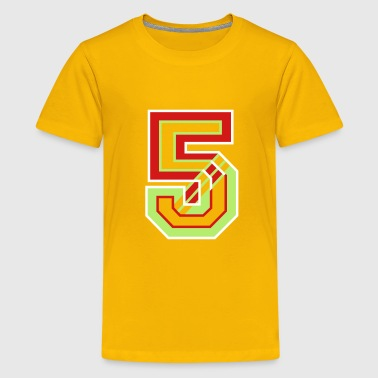 The Number Five - Kids' Premium T-Shirt