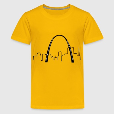 St. Louis Gateway Arch - Kids' Premium T-Shirt