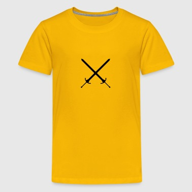 Crossed swords - Kids' Premium T-Shirt