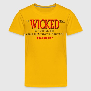 WICKED RED - Kids' Premium T-Shirt