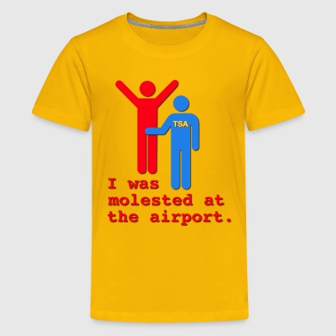 I Was Molested At The Airport - Kids' Premium T-Shirt