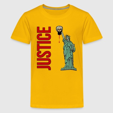 Osama Bin Laden Usama Dead Statue of Liberty - Kids' Premium T-Shirt