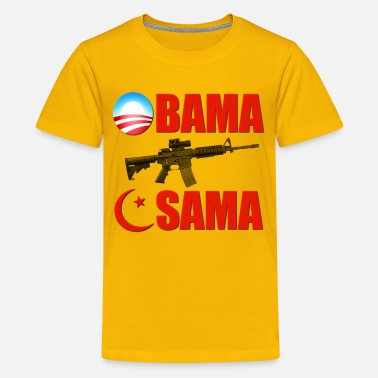 Killed Afghanistan Obama Killed Osama - Kids' Premium T-Shirt
