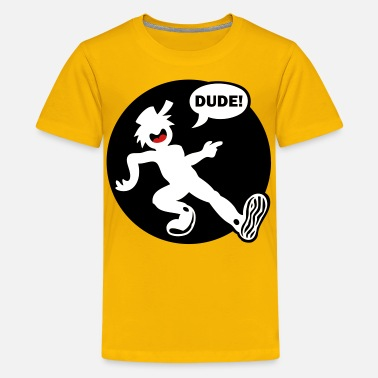 Stickman Kids Stickman Dude'n Kid's Long Sleeve 1 - Kids' Premium T-Shirt